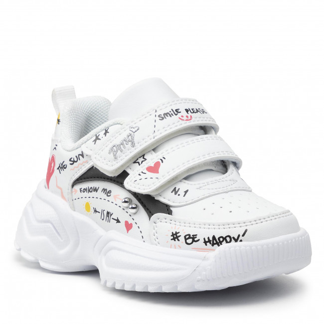 Sneakersy PRIMIGI - 8462022 Bian
