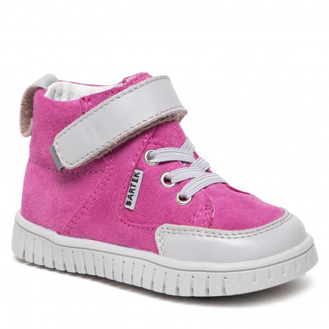Členková obuv BARTEK - 11544007 Róż