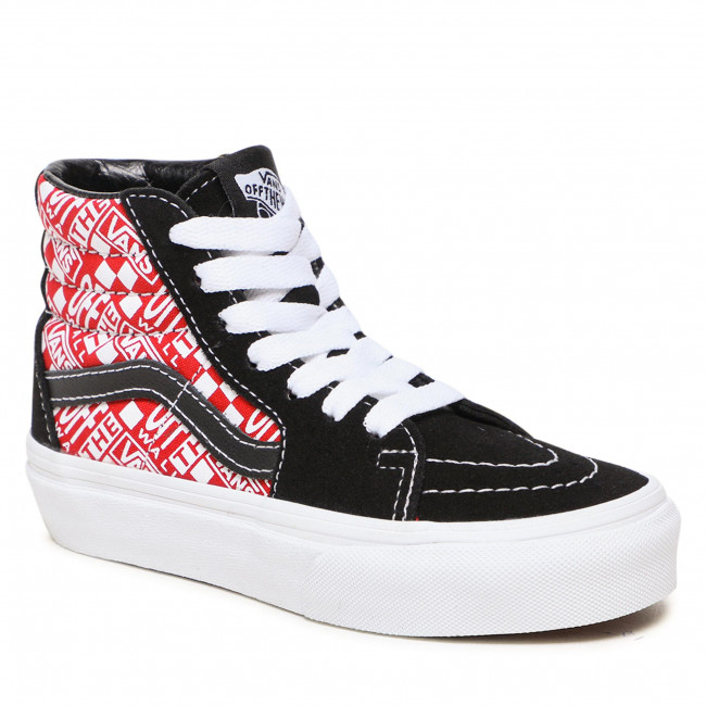 Sneakersy VANS - Sk8-Hi VN0A4BUW1781 (Off The Wall)Blk/Rcngrd