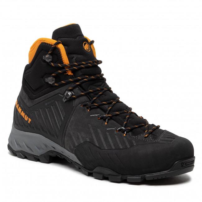 Trekingová obuv MAMMUT - Alnasca Pro II Mid Gtx GORE-TEX 3020-06290-00132 Black/Dark Radiant