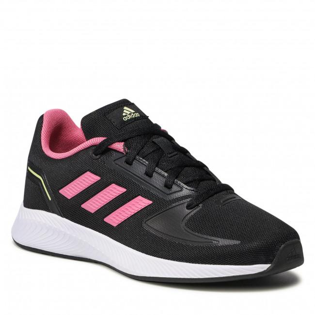 Topánky adidas - Runfalcon 2.0 K GZ7420 Core Black/Rose Tone/Pulse Yellow