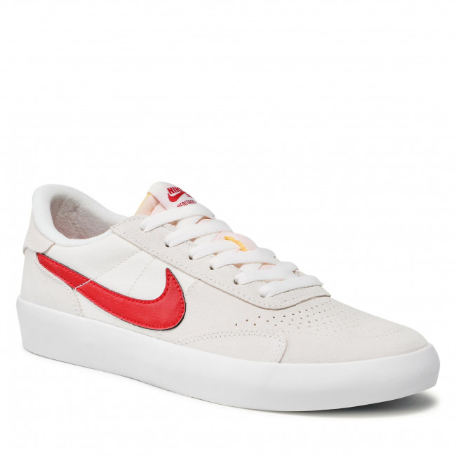 Topánky NIKE - Sb Heritage Age Vulc CD5010 103 Summit White/Gym Red