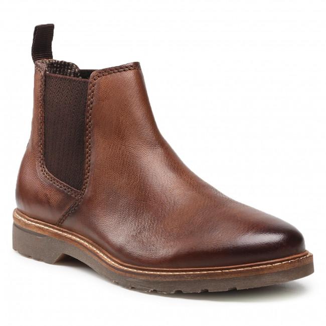 Kotníková obuv s elastickým prvkom BUGATTI - 331-A5P31-3200-6100 Dark Brown