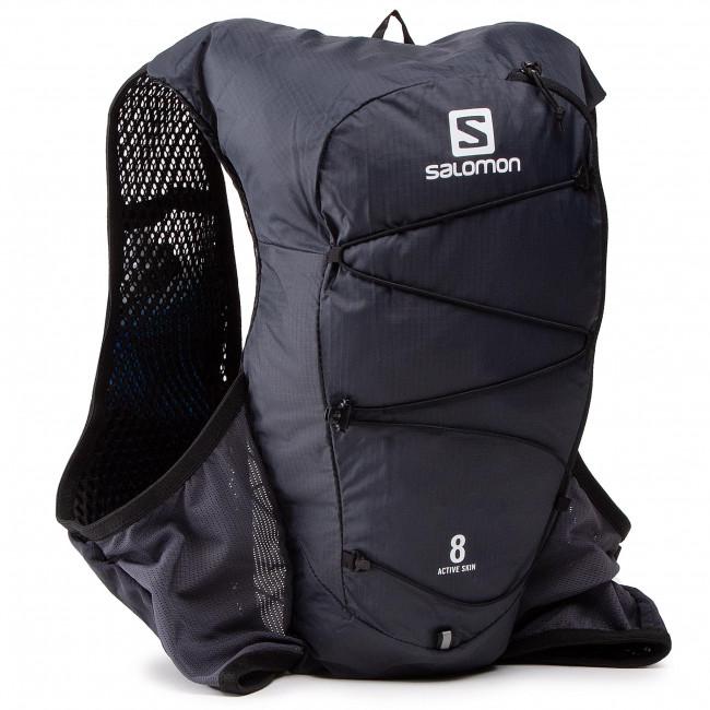 Ruksak SALOMON - Active Skin 8 Set C130370 18 V0 Ebony