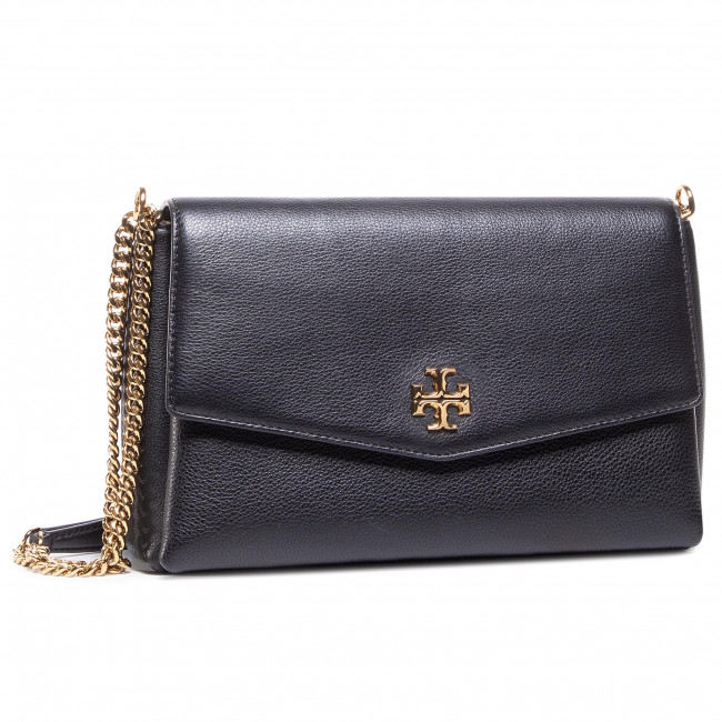 Kabelka TORY BURCH - Kira Pebbled Convertible Shoulder 73576 Black 001