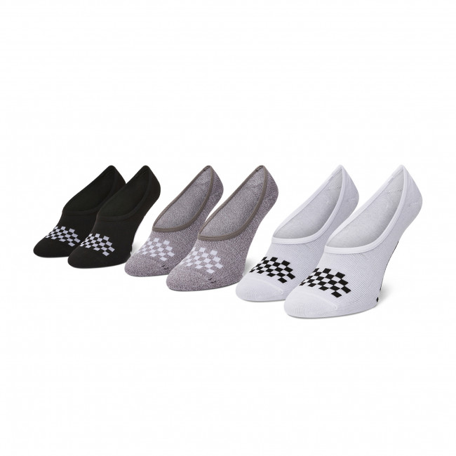 Súprava 3 párov kotníkových ponožiek dámských VANS - Classic Canoodle VN0A48HJ4481 Ast Can Multi