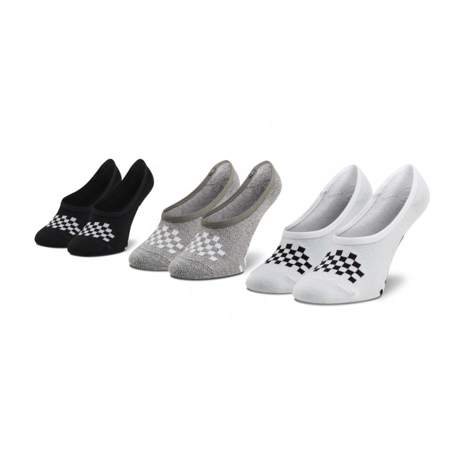 Súprava 3 párov kotníkových ponožiek dámských VANS - Wm 1-6 3Pk Asst VN0A48HI4481 Cano Multi