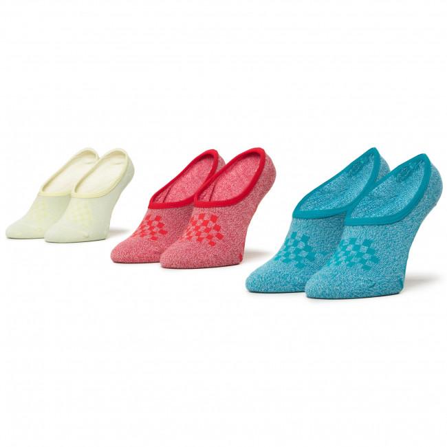 Súprava 2 párov krátkych ponožiek dámskych VANS - Wm Classic Marled Canoodles VN0A49Z8ZLI1  Marled Multi