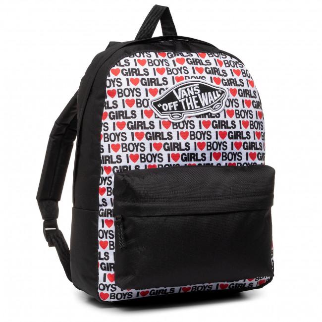 Ruksak VANS - Realm Backpack VN0A3UI6VDA1 I Heart Boys Girls