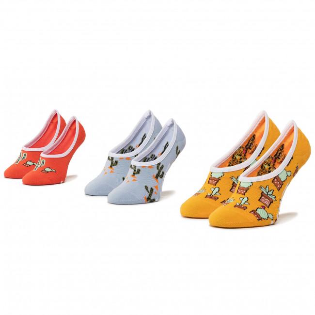 Súprava 3 párov krátkych ponožiek detských VANS - Beachin' Canoodles Socks VN0A4DSK4481 r.31.5-36 Multi