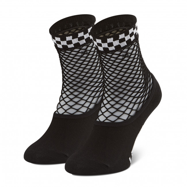 Ponožky Vysoké Dámske VANS - Meshed Up VN0A5DPSBLK1 r. 36.5-41 Black