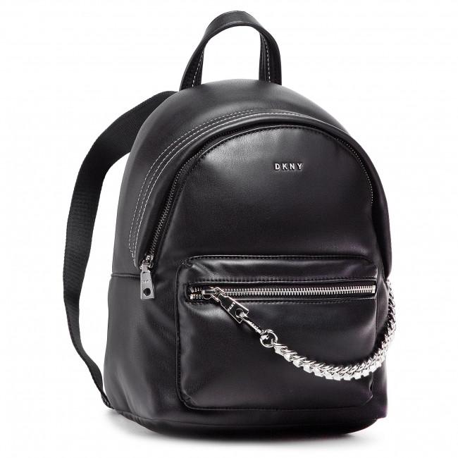 Ruksak DKNY - Quinn Backpack R11KZL44 Black/Silver BSV