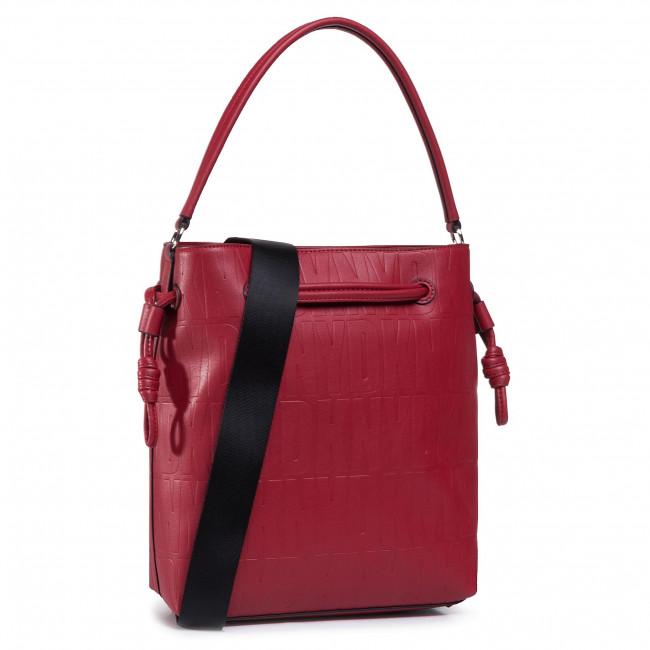 Kabelka DKNY - Jude Drawstring Buck R04JVF61 Bright Red 8RD