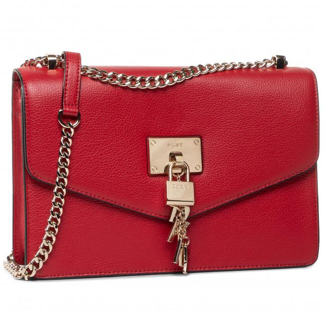 Kabelka DKNY - Elissa Lg Shoulder R813H281 Brilliant Red 8RD