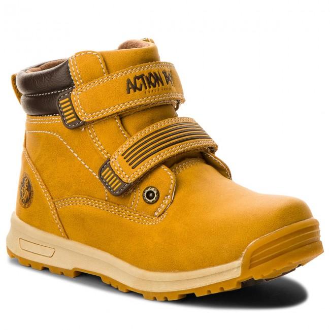 29f9a3511e8b9 Outdoorová obuv ACTION BOY - CP40-FK5-816JZ M Camel - Outdoorová ...