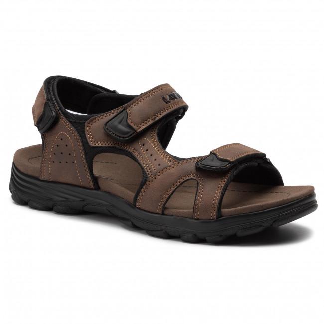 Sandále LANETTI - MS17011-1 Brown