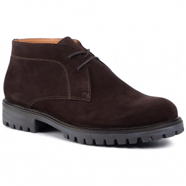 Outdoorová obuv GINO ROSSI - MI08-C667-658-01S Chocolate Brown