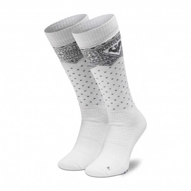 Ponožky Vysoké Dámske ROSSIGNOL - W Sportchic RLIWX01 White 100