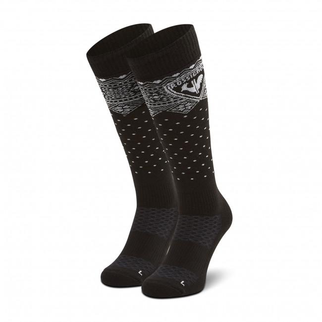 Ponožky Vysoké Unisex ROSSIGNOL - Sportchic RLIWX01U Black 200