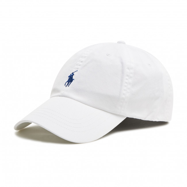 Šiltovka POLO RALPH LAUREN - Hat 710548524001 White/Marlin Blue