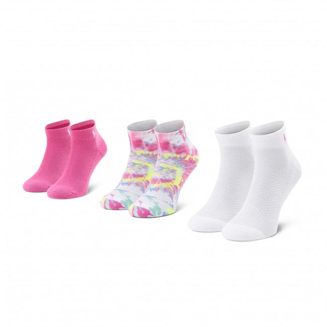 Súprava 3 párov vysokých ponožiek dámských POLO RALPH LAUREN - 455838483001 OS Asst