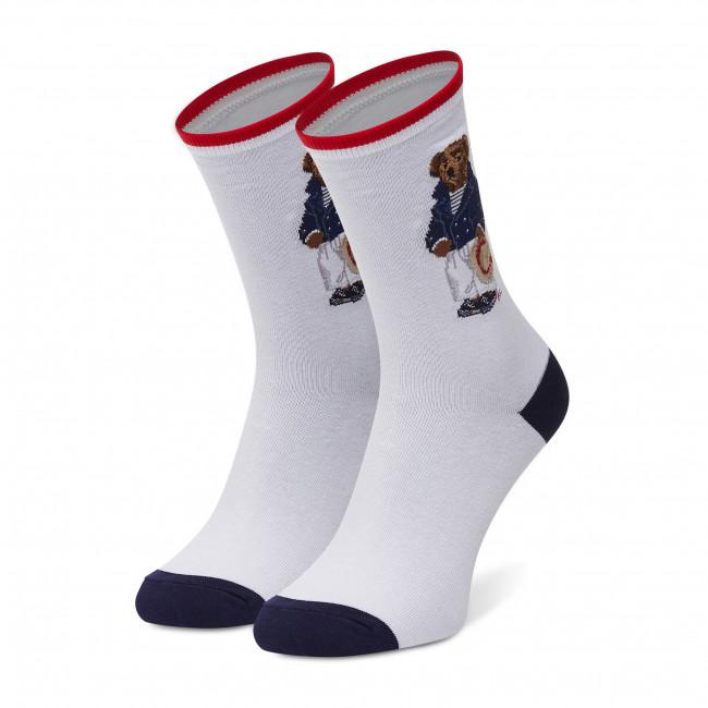 Ponožky Vysoké Dámske POLO RALPH LAUREN - Nevis White