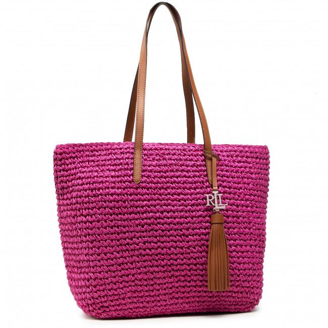 Kabelka LAUREN RALPH LAUREN - Whitney 431818856004 Bright Pink