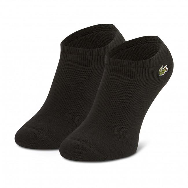 Ponožky Kotníkové Unisex LACOSTE - RA2061 Noir 031/Blanc 001