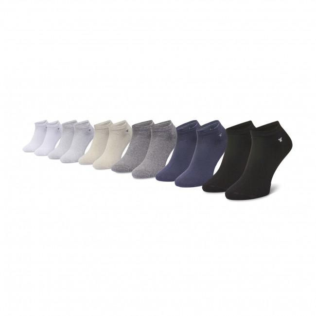 Súprava 6 párov kotníkových ponožiek pánskych TOM TAILOR - 9896 Light Beige 171