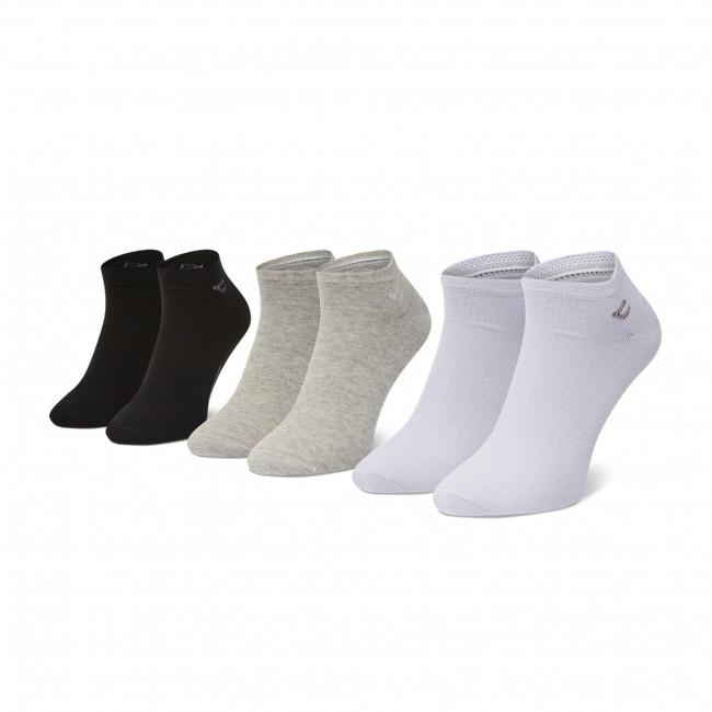 Súprava 3 párov vysokých ponožiek pánskych CAMEL ACTIVE - 6595A  Light Grey 285
