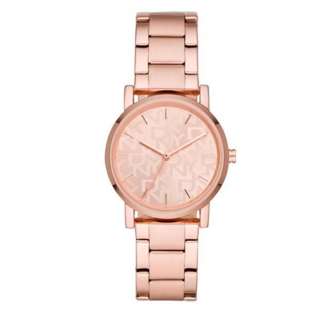 Hodinky DKNY - Soho NY2854 Rose Gold/Rose Gold