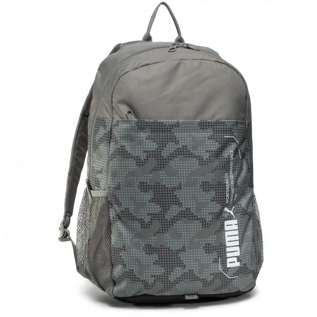 Ruksak PUMA - Style Backpack 76703 08 Ultra Gray/Camo Aop