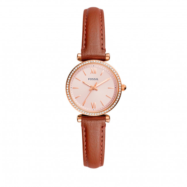 Hodinky FOSSIL - Carlie Mini ES5112  Brown/Gold