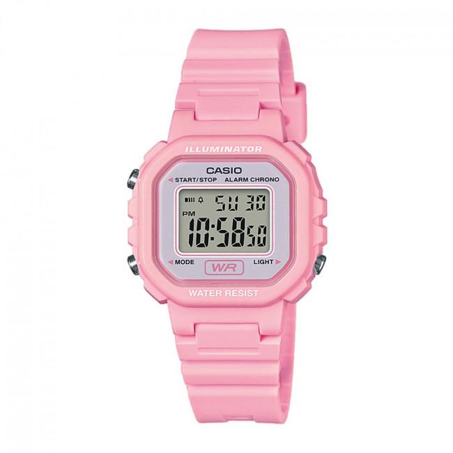 Hodinky CASIO - Sport LA-20WH-4A1EF Pink/Pink