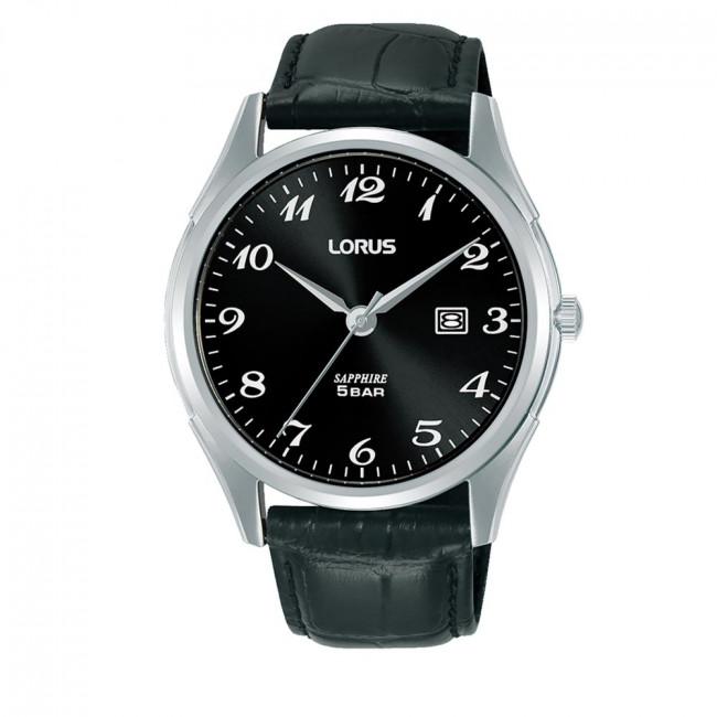 Hodinky LORUS - RH951NX9 Black/Silver