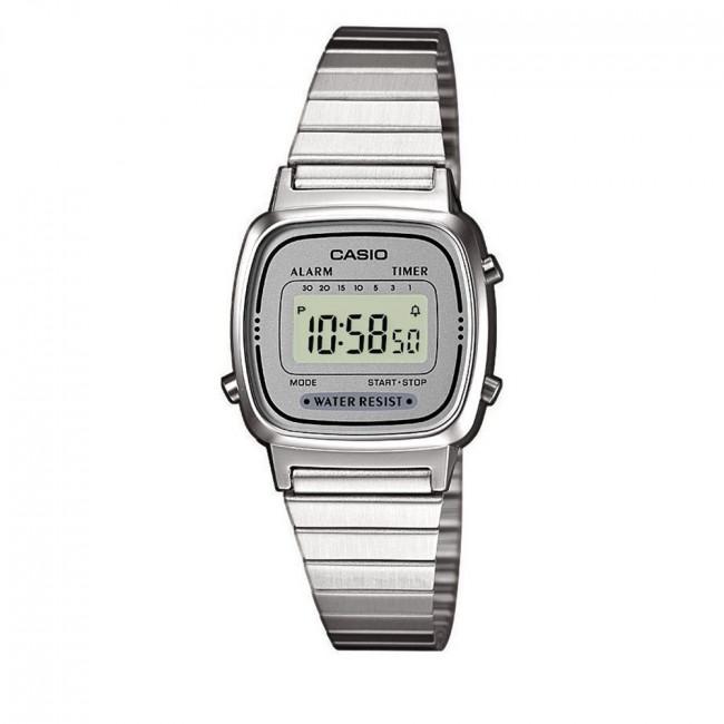Hodinky CASIO - LA670WEA-7EF Silver