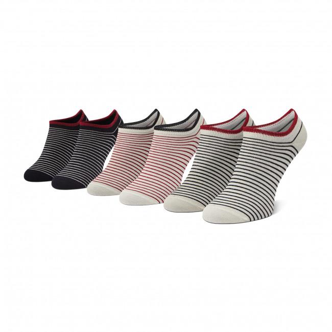 Súprava 3 párov kotníkových ponožiek dámskych PEPE JEANS - Samara PLU10551 Multi 0AA
