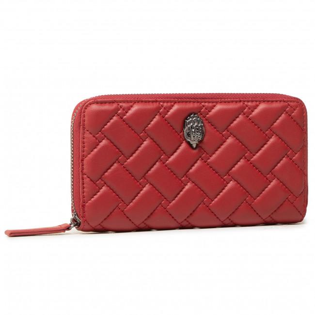 Veľká Peňaženka Dámska KURT GEIGER - Zip Around Wallet Eagle 1803051109 Red/Dark