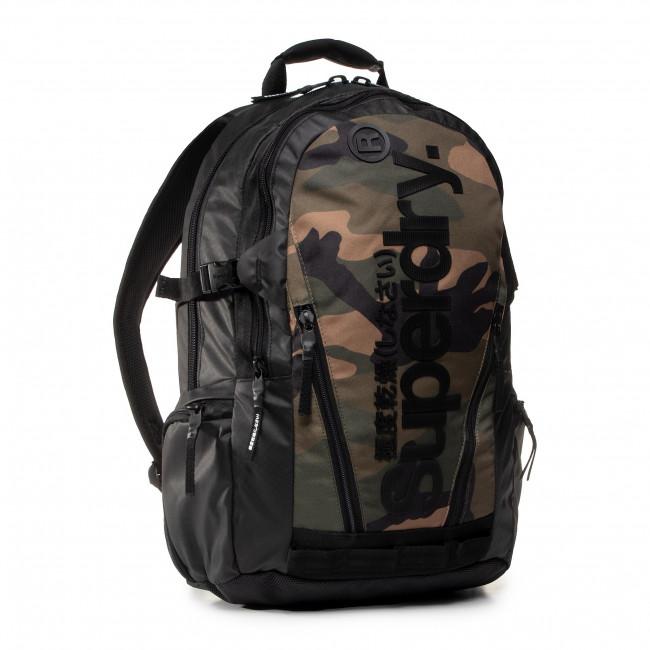 Ruksak SUPERDRY - Tarp Backpack M9110026A  Green Camo