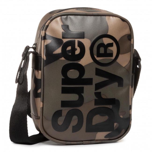 Ľadvinka SUPERDRY - Side Bag M9100022A  Green Camo Tarp 0VM
