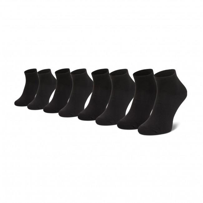 Súprava 4 párov kotníkových ponožiek unisex ONLY & SONS - 22016144 Black