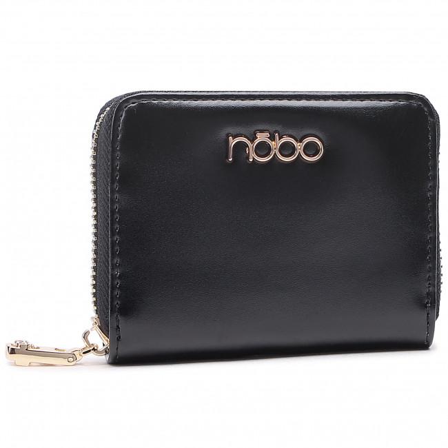 Malá Dámska Peňaženka NOBO - NPUR-LJ0111-C020 Čierna