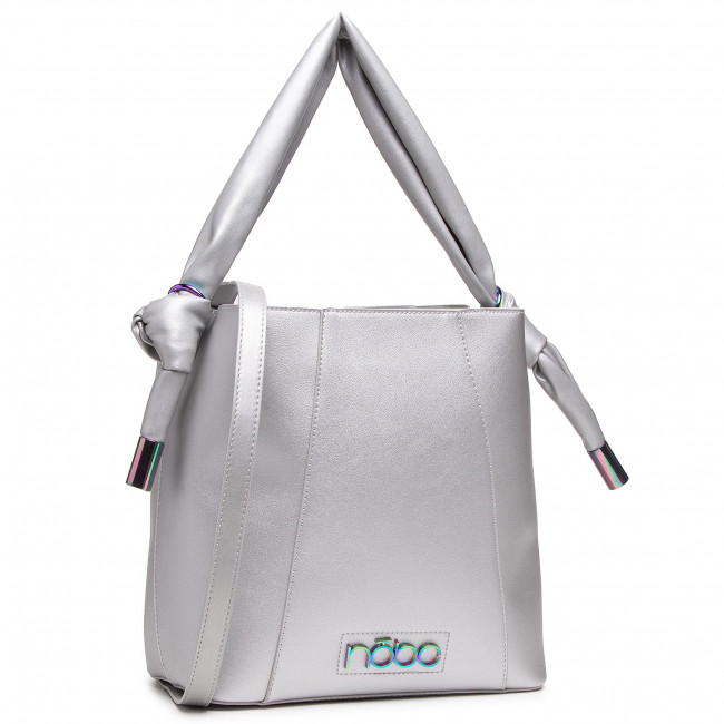 Kabelka NOBO - NBAG-K1080-C022 Strieborná