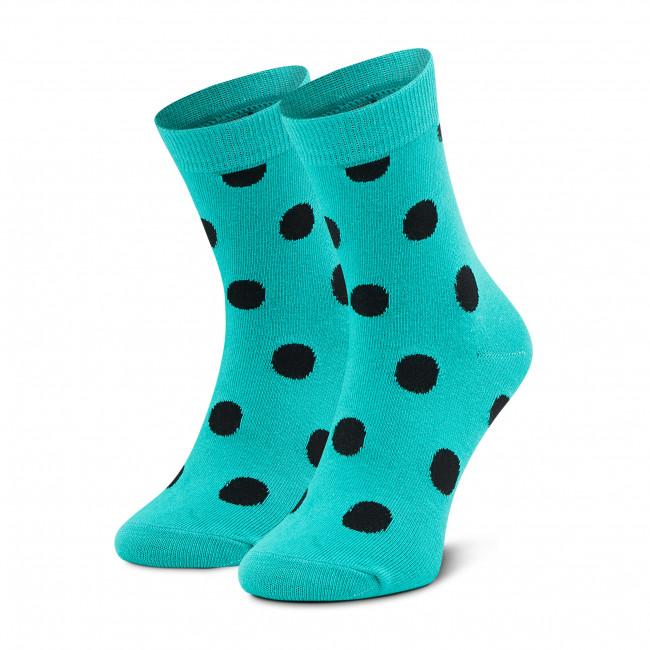 Ponožky Vysoké Unisex DOTS SOCKS - DTD-SX-103-Z  Zelená