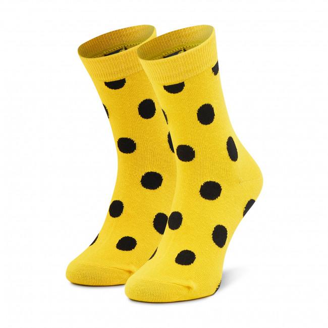 Ponožky Vysoké Unisex DOTS SOCKS - DTD-SX-104-Y Žltá