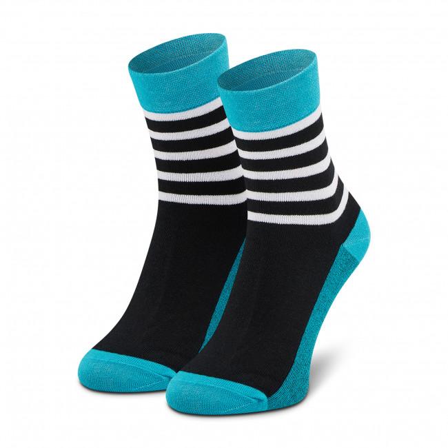 Ponožky Vysoké Unisex DOTS SOCKS - DTS-SX-319-Z Čierna Farebná