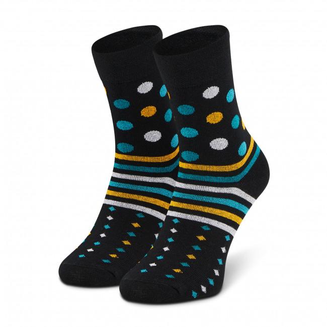 Ponožky Vysoké Unisex DOTS SOCKS - DTS-SX-329-C Čierna
