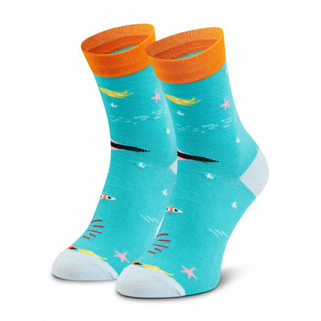 Ponožky Vysoké Unisex DOTS SOCKS - DTS-SX-423-Z Zelená