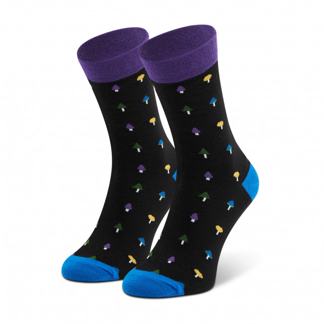 Ponožky Vysoké Unisex DOTS SOCKS - DTS-SX-435-C Čierna