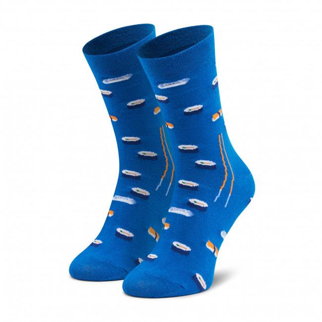 Ponožky Vysoké Unisex DOTS SOCKS - DTS-SX-442-N Modrá